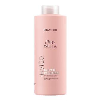 Wella Invigo блондинка пополнения Cool блондинка цвет освежает шампунь 1000 мл