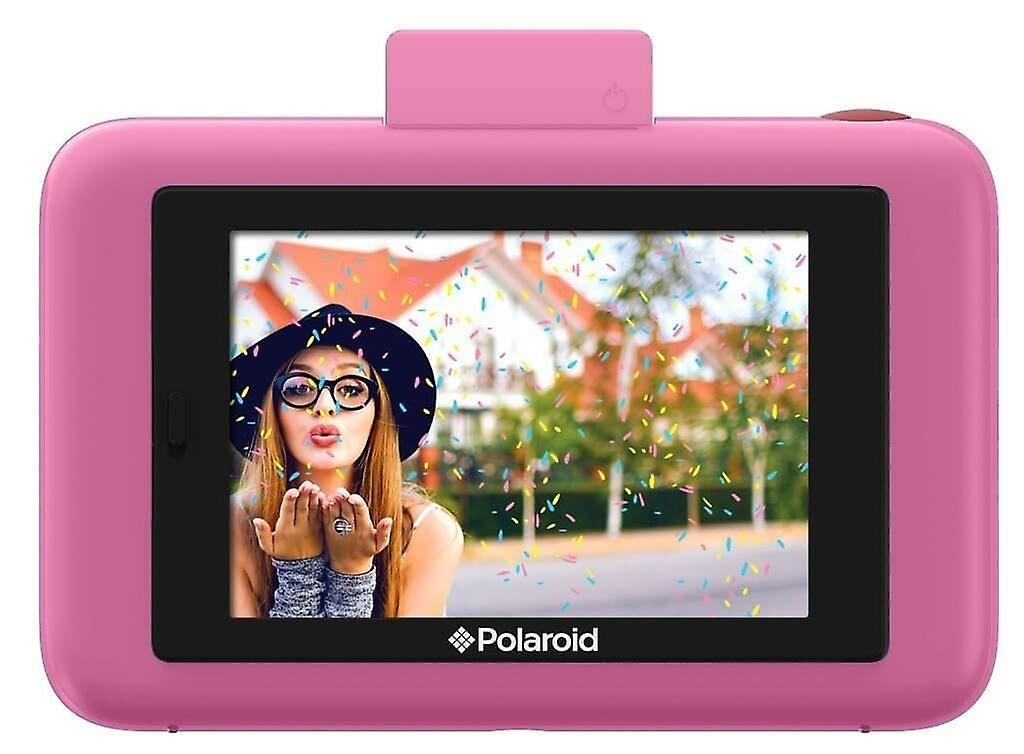 Polaroid Snap Touch Instant Print Digital Camera With LCD Display with Zink Zero Ink Printing Technology (Pink)