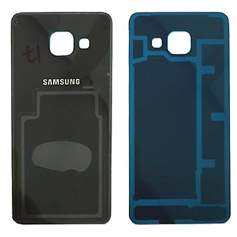 Samsung GH82-11093B battery cover cover for Galaxy A3 2016 A310F + adhesive pad black