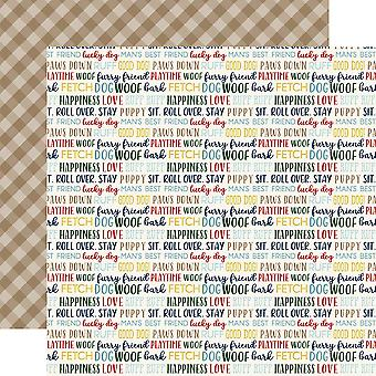 A Dog's Tail Double-Sided Cardstock 12