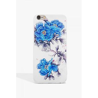 Little Mistress Accessories Blue Flower Case Iphone 7