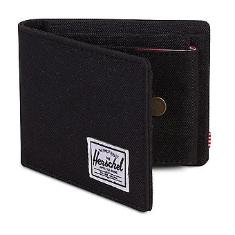 Herschel Roy Coin Wallet - Black
