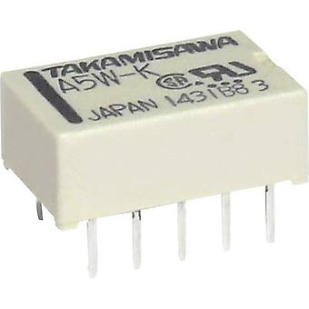 Takamisawa A12WK12V PCB relays 12 Vdc 1 A 2 change-overs 1 pc(s)