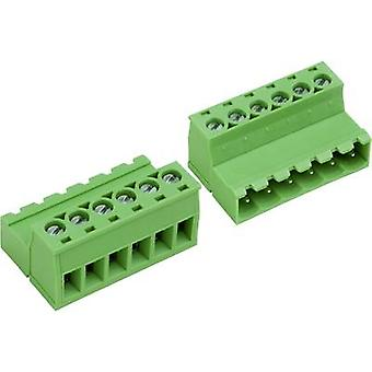 PTR Socket låda - kabel AK (Z) 950 totala antalet stift 5 kontakt avstånd: 5,08 mm 50950057028E 1 dator