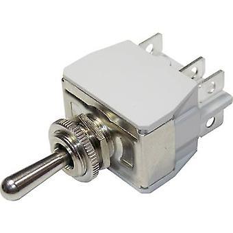 APEM 646H/2 / 6463676 Toggle switch 250 V AC 15 A 2 x On/On latch 1 pc(s)