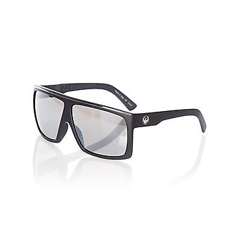 Dragon Matte Black-Silver Ionized Fame Sunglasses