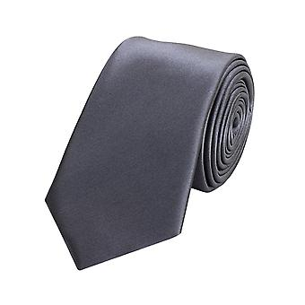 Cravatta cravatta cravatta cravatta 6cm grigio uni Fabio Farini
