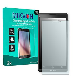 Archos 50b Oxygen Screen Protector - Mikvon Clear (Retail Package with accessories)