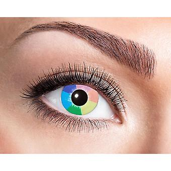 UV contact lens black light Rainbow