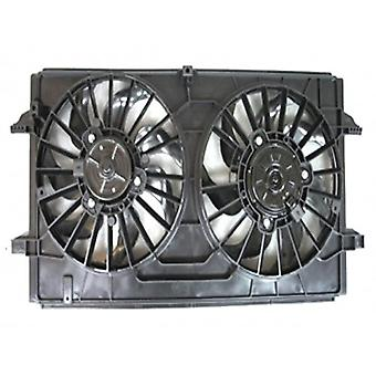 APDI 6016146 Dual Radiator and Condenser Fan Assembly