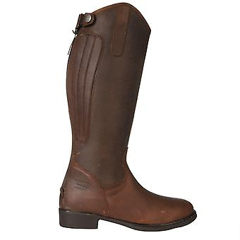 Toggi Kids Tucson Riding Boots Zip Fastening Equestrian Leather Shoes