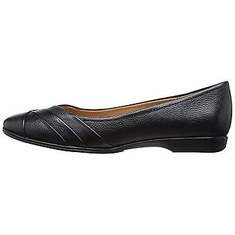 Naturalizer Womens jaye Leather Closed Toe Ballet Flats