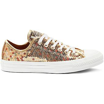 Converse Chuck Taylor All Star Holiday Scene Sequin Trainers Gold