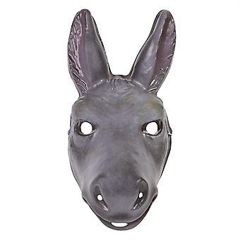 Maschera di plastica dell'asino