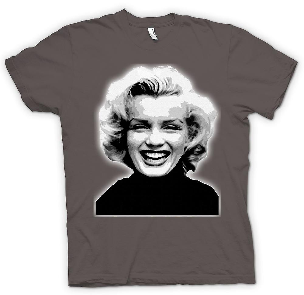 T-shirt - Marilyn Monroe - BW - icona