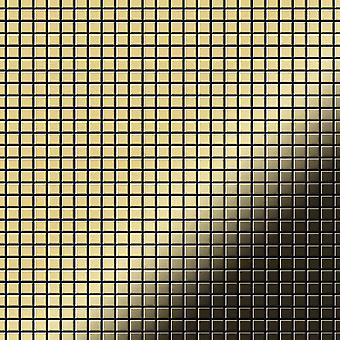 Metal mosaic Brass ALLOY Glomesh-BM