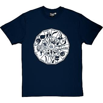 Natural History mäns T-Shirt från A-Ö