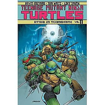 Teenage Mutant Ninja Turtles Volume 11: Attaque sur Technodrome (Teenage Mutant Ninja Turtles Tp en cours)