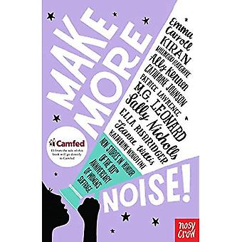 Faire plus de bruit!: nouvelles histoires en l'honneur du 100e anniversaire du suffrage féminin