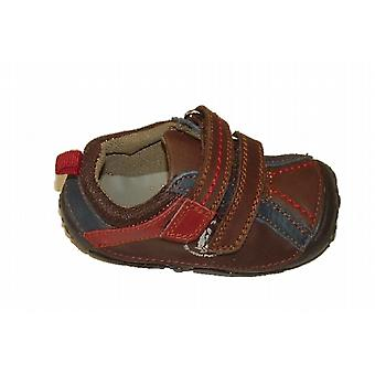 Hush Puppies Boys Tad Pre-walkers Brown F Fitting