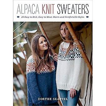 Alpacka sticka tröjor: 28 lätt-till-Knit, lätt-till-Wear, varma och bekväma stilar