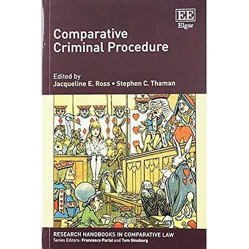 Comparative Criminal Procedure (Research Handbooks in Comparative Law Series)