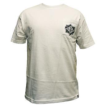 Rebel8 Pocket T-shirt blanc de marque