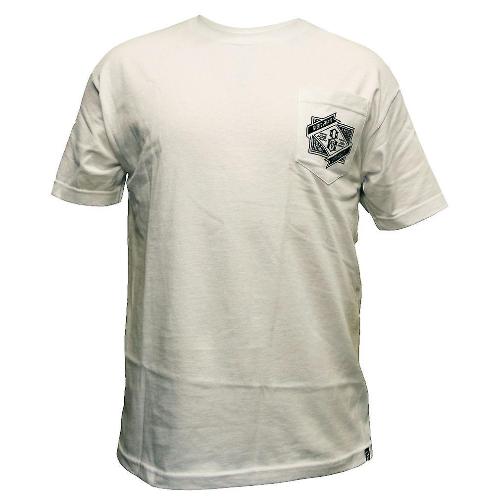 Rebel8 Branded Pocket T-shirt White