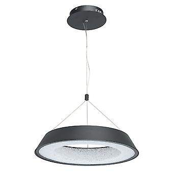 Glasberg - conduit petit réglable pendentif en Matt noir et blanc 703010701