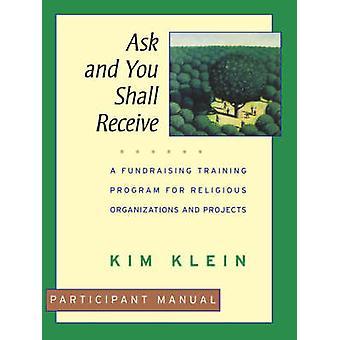 Demande doit recevoir le manuel du Participant par Klein
