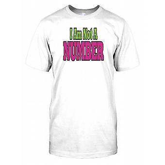 Ik ben niet een nummer - samenzwering Kids T Shirt