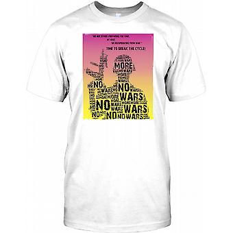 Keine Kriege mehr - Anti-Kriegs-Plakat entwerfen Herren-T-Shirt