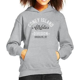 Coney Island Athletics Division Kid's Hooded Sweatshirt