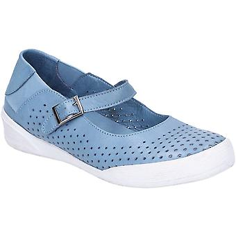Hush Puppies Womens Bailey Buckle Strap Casual Summer Shoes