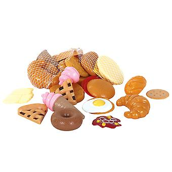Gowi Toys Pretend Sweet and Savoury Play Food Roleplay Kitchen Accessories