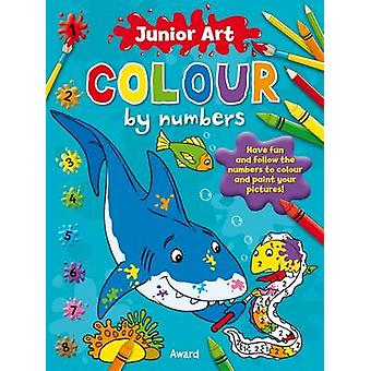 Shark - Colour By Numbers by Anna Award - 9781841358581 Book