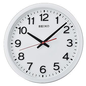 Seiko vägg klocka med arabiska siffror-Matt vit (QXA732W)