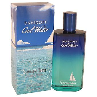 Cool Water Summer Seas by Davidoff Eau De Toilette Spray 4.2 oz / 125 ml (Men)