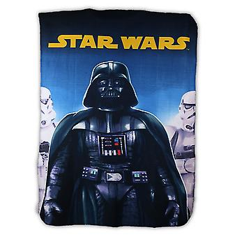 Darth Vader Star Wars gutter plysj Fleece teppe