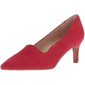 Franco Sarto Womens Danelly Leather Pointed Toe Classic Pumps