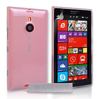 YouSave Accessories Nokia Lumia 1520 Silicone Gel Case Clear