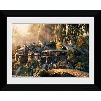 Lord of the Rings Fellowship of the Ring Framed Collector Print 40x30cm