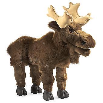 Hand Puppet - Folkmanis - Moose New Animals Soft Doll Plush Toys 2205