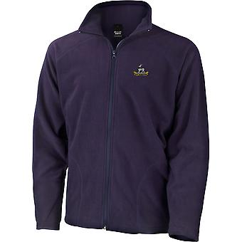 Royal Warwickshire Regiment - Licensed British Army Embroidered Lightweight Microfleece Jacket