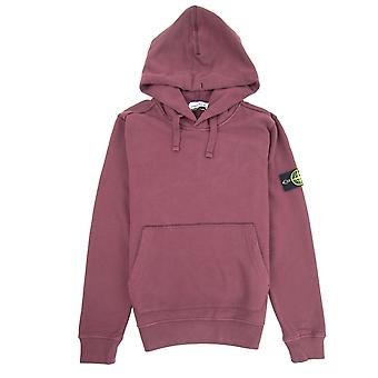 Stone Island 62820 Hooded Sweatshirt Burgundy V0011