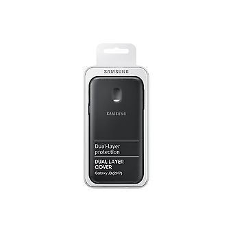 Samsung EF-PJ330CPE Dual Layer Cover Hülle Galaxy J3 2017 - schwarz