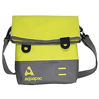 AQUAPAC Impermeabile Borsa a Tracolla Tote Bag - Unisex - Wasserdichte Umh�ngetasche Tote Bag - Acid Green/Grau - S