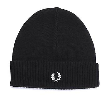 Fred Perry roll up Beanie lue C7142