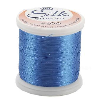 Silk Thread 100 Weight 200 Meters Electric Blue 202 10 207