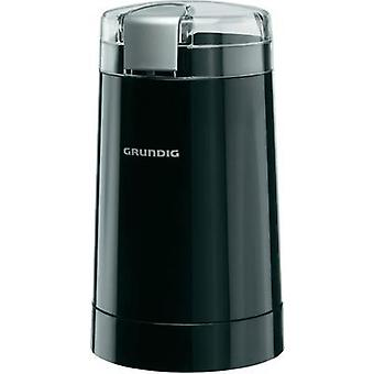Bean grinder Grundig CM 3260 Black GMN2200 Stainless steel cleaver